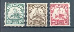 Samoa 20/22 LUXUS**POSTFRISCH (70526 - Kolonie: Samoa