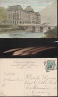 3701) UN SALUTO DA SAN S. PELLEGRINO GRAND HOTEL VIAGGIATA 1907 - Lucca