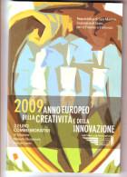 SAN MARINO 2 EUROS 2009 ANNO EUROPEO CREATIVITA INNOVAZIONE - San Marino