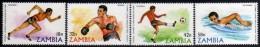 1980 - R. De Zambia - JJOO. De Moscu - Serie - MNH - Verano 1980: Moscu