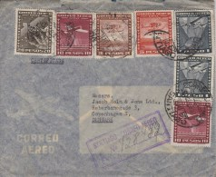Chile; Air Mail Cover To Denmark - Chili