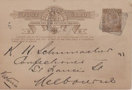 South Australia; Postal Card 1906 - Covers & Documents