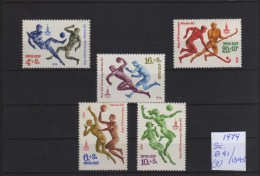1980 - Rusia - JJOO De Moscu 80 - MNH1 - Verano 1980: Moscu