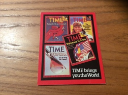 "Calendrier 1982 ANGLETERRE ""TIME"" (7x9cm) (Bjorn Borg) - Kalenders"