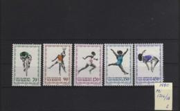 1980 - San Marino - JJOO De Moscu 80 - MNH - Verano 1980: Moscu