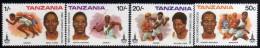 1980 - Tanzania - JJOO. De Moscu - Serie - MNH - Verano 1980: Moscu