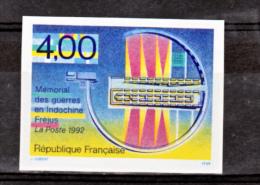 France 2791a Mémorial Guerres D'indochines Non Dentelé 1993 Neuf ** TB MNH Sin Charnela Cote 23 - Frankreich