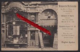 "76 LE HAVRE -- Grande Brasserie Nationale "" N. MUSCAT "" _ 22, Rue de Paris."