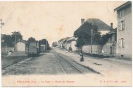 FEILLENS - La Gare, Route De Manziat - Other Municipalities