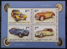 Bosnia And Hercegovina, 2006, Mi: Block 29 (MNH) - Cars