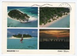 MALDIVES - HALAVELI ARI-ATOLL (FRIEDEL No.23/126) / THEMATIC STAMPS-BIRD - Maldive
