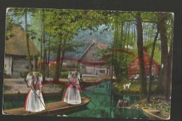 Cpa St000972 Tampon Spremberg  Im Spreewald , Canal , Marais Tenues Traditionnelles - Spremberg