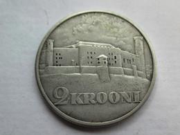 Estonie 2 Krooni, 1930 Toompea Fortress At Tallinn - Estonie