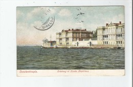 CONSTANTINOPLE 13001 ORTAKEUY ET KIOSKS IMPERIAUX 1907 - Türkei
