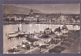 Old Card Of La Rade Illuminee,Geneve, Switzerland,Posted With Stamp,J22. - GE Ginevra