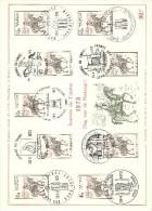 COB  1668  (o)  Oblitération 1er Jour  (Lot B1) - Cartes Souvenir