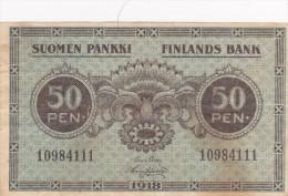 FINLANDS Bank  1918 - Finlande