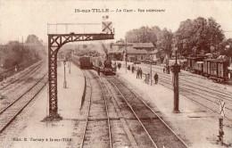 IS-sur-TILLE  --La gare , vue int�rieure