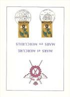COB  1855  (x2)  (o)  Oblitération 1er Jour   (Lot B1) - Cartes Souvenir