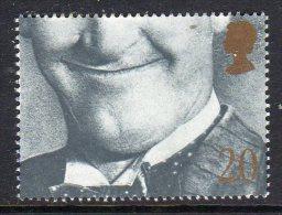 GREAT BRITAIN GB - 1990 GREETINGS SMILES STAN LAUREL 20p FINE MNH ** SG 1492 - 1952-.... (Elizabeth II)