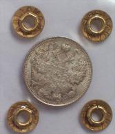 RUSSIA - 15 Copeki 1915 Moneta In ARGENTO Periziata FDC - Russia