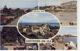 SOUTHEND-on-SEA, Multi View, Western Esplanade, The Boating Lake, The Pier, Never Never Land, Beach And Pier - Southend, Westcliff & Leigh