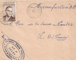 Cote D´Ivoire 1962 Daloa President Houphouet Boigny Cover - Ivoorkust (1960-...)