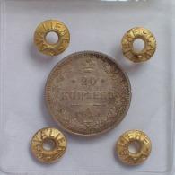 RUSSIA - 20 Copeki 1915 Moneta In ARGENTO Periziata FDC - Russia