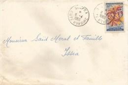 Cote D´Ivoire 1963 Sinfra Scadoxus Cinnabarinus Flower Cover - Ivoorkust (1960-...)