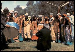 ÄLTERE POSTKARTE DANCE DABKEH OF NORTHERN IRAQ Danse Irak Traditional Costume Folklorique Tracht Cpa Ansichtskarte AK - Iraq