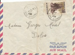 Cote D´Ivoire 1963 Gagnoa Elephant Cover - Ivoorkust (1960-...)