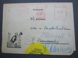 1948  , Hamburg - Rahlstedt   , Freistempel  Auf Brief - Gemeinschaftsausgaben