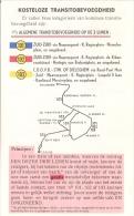 STIB - FEUILLET DOUBLE - TRANSITS GRATUITS - LIGNES 101, 102 Et103. - Europe