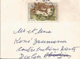Cote D´Ivoire 1969 Daloa Duiker Antilope Tree Forest Cover - Ivoorkust (1960-...)