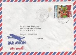 Cote D´Ivoire 1997 CNT Abidjan Lettres Olympic Games Atlanta Athletics Cover - Ivoorkust (1960-...)