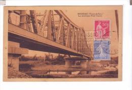82 MOISSAC Le Nouveau Pont Cacor De Fer - Moissac