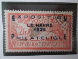 NUMERO 257.   EXPOSITION LE HAVRE 1929 OBLITERE . COTE  875 EUROS - France
