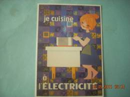 CLOUET  101047  JE CUISINE A L ELECTRICITE    LEFOR OPENA - Advertising