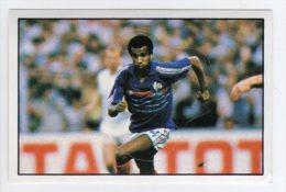 FOOT STICKER FRANCE PANINI FOOTBALL 85 N°226 JEAN TIGANA - RETRO FRANCE EURO 84 - ETAT NEUF DOS D´ORIGINE - Edition Française