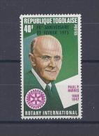 TOGO. YT 831  70e Anniversaire Du Rotary International  1975 Neuf ** - Togo (1960-...)