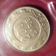 ITALIA REPUBBLICA - 1984 Lire  200  FDC Da Zecca - 200 Lire