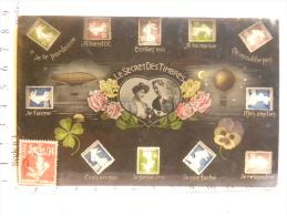 CPA Le Secret Des Timbres - - Stamps (pictures)