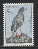 Angola 1951, Scott #333 (MNG)Bird, Dark Chanting Goshawk, Oiseau - Angola