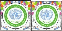 UNO - Wien 344-345 (kompl.Ausg.) Postfrisch 2001 UNPA - Wien - Internationales Zentrum