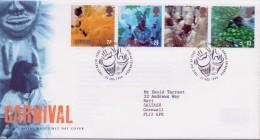 GB First Day Cover To Celebrate Europa Festivals Notting Hill Carnival 1998. - 1991-00 Ediciones Decimales