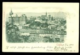 CZECHOSLOVAKIA * HANDGESCHREVEN POSTKAART Uit 1899 Van Teplitz-Schönau Naar WORMERVEER (10.382a) - Tchécoslovaquie