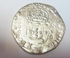 D Joao IV Cruzado (Replica Com Banho De Níquel Mate REPRODUCTION  Fausse Monnaie) - 2 Scans - Counterfeits