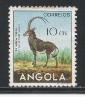 Angola 1953. Scott #363 (M) Animal, Sable Antelope * - Angola