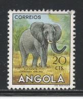 Angola 1953. Scott #364 (U) Animals, Elephant, Éléphant - Angola