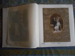 PHOTO ALBUM PHOTO DE FAMILLE 27 PHOTO MARIAGE + 14 PHOTO COMMUNION ( Voir Photos Jointes ) - Alben & Sammlungen